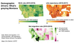 How, where, and why Montana became the grayest state in the West