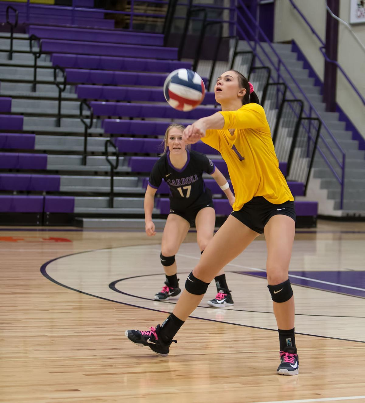 volleyball; C vs Rocky