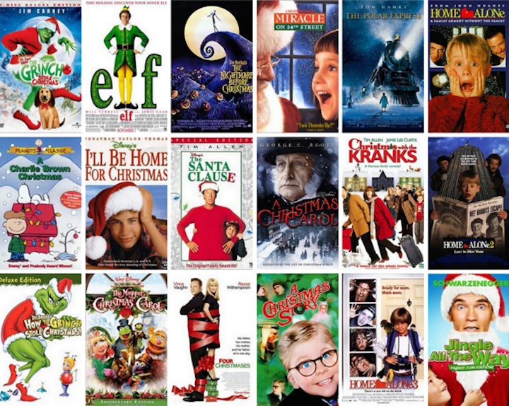 troys top christmas movies of all time - The Best Christmas Movies