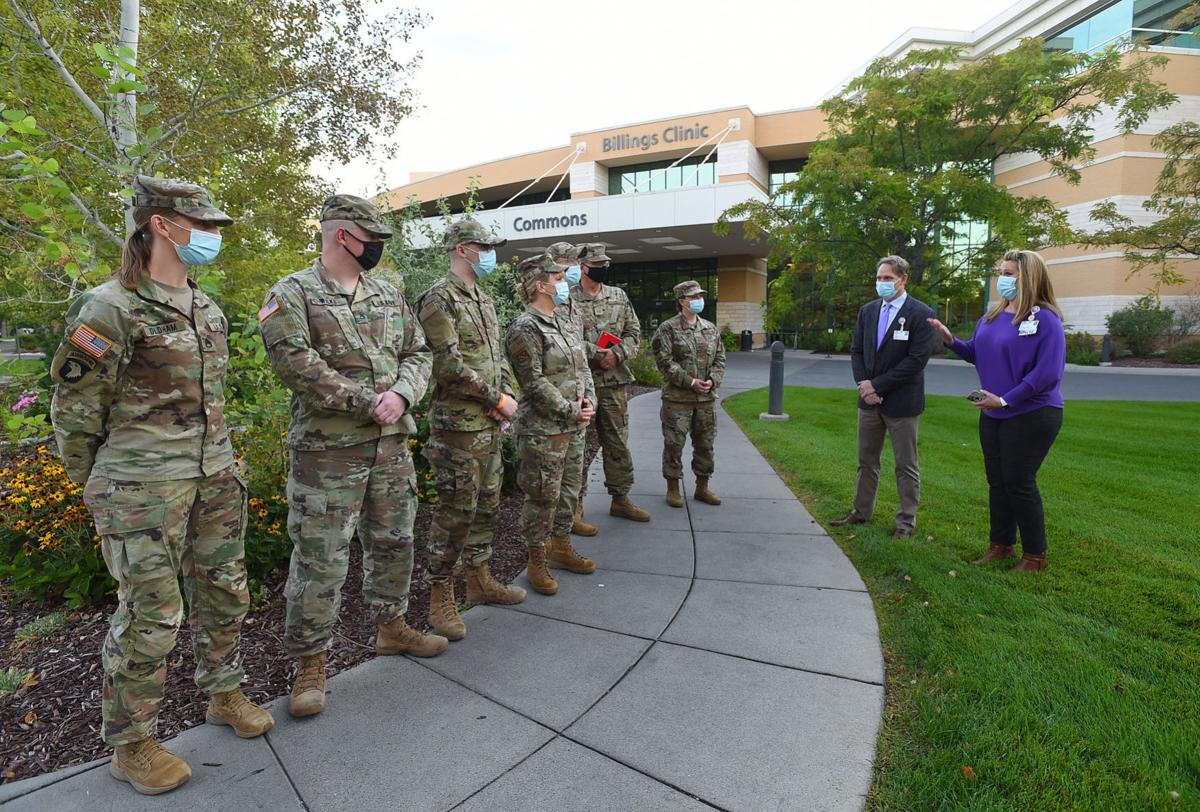 National Guard at Billings Clinic