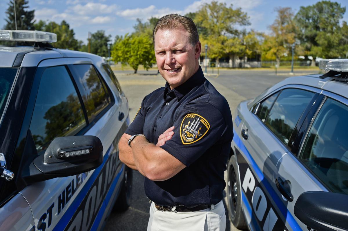 Mike Sanders, former Helena officer and federal Drug Enforcement Agency agent,