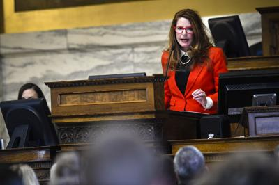 Superintendent Of Public Instruction Elsie Arntzen Addresses The House