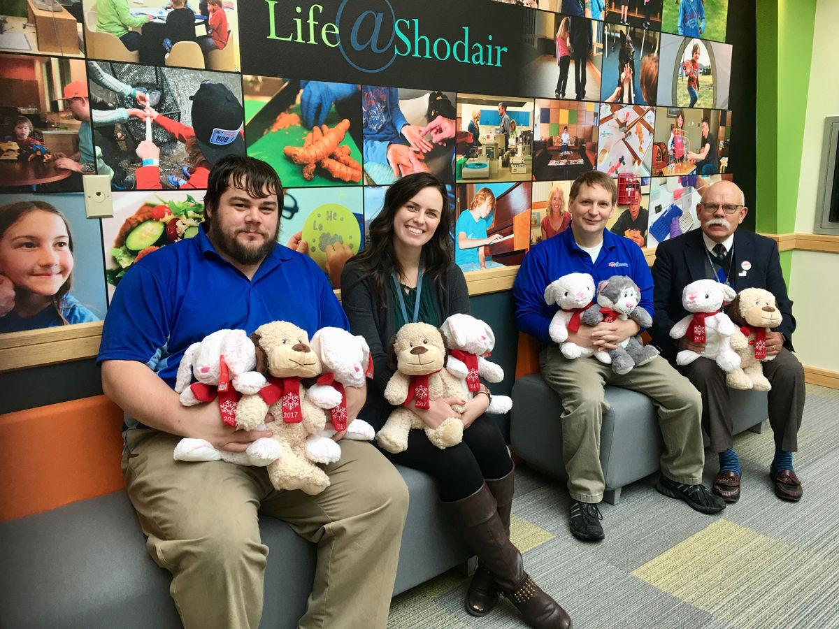 PetSmart donates plush animals to Shodair