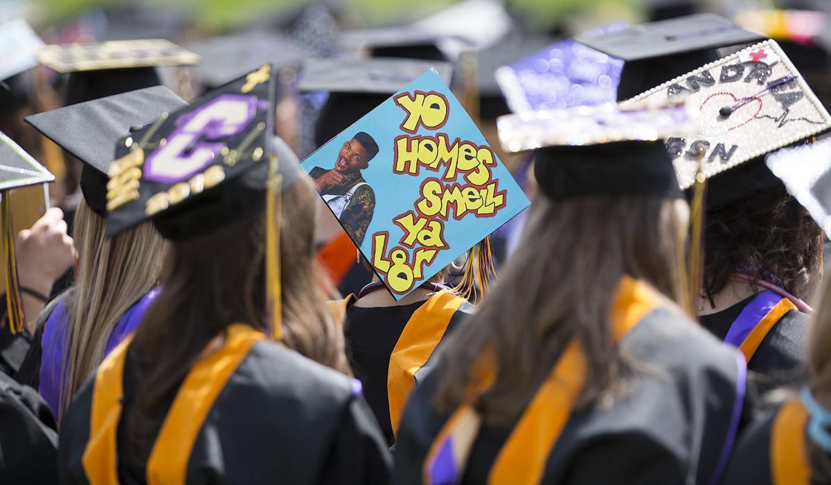 Carroll College graduation
