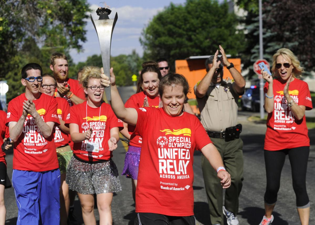 Special Olympics Flame of Hope