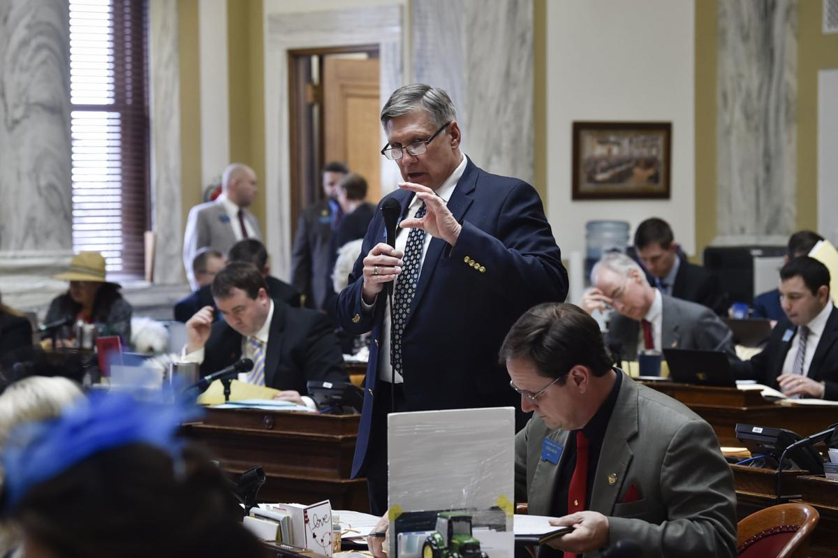 Majority Leader Rep. Brad Tschida, R-Missoula,