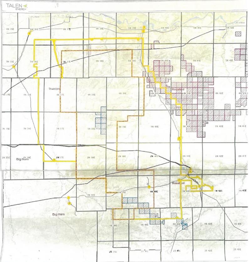 Talen Wind Project Map