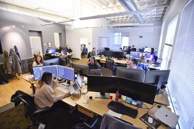 Employees work at Figure Technologies,