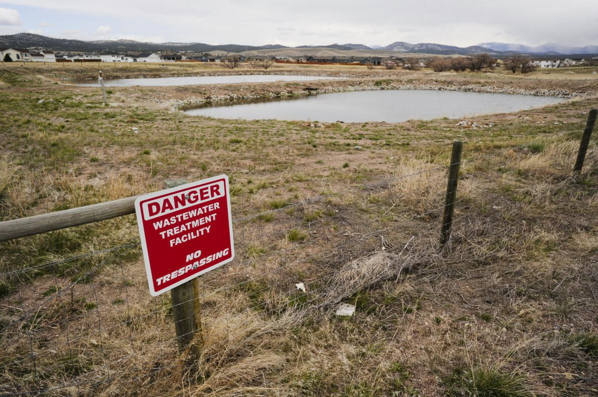 State environmental regulators say a sewage lagoon