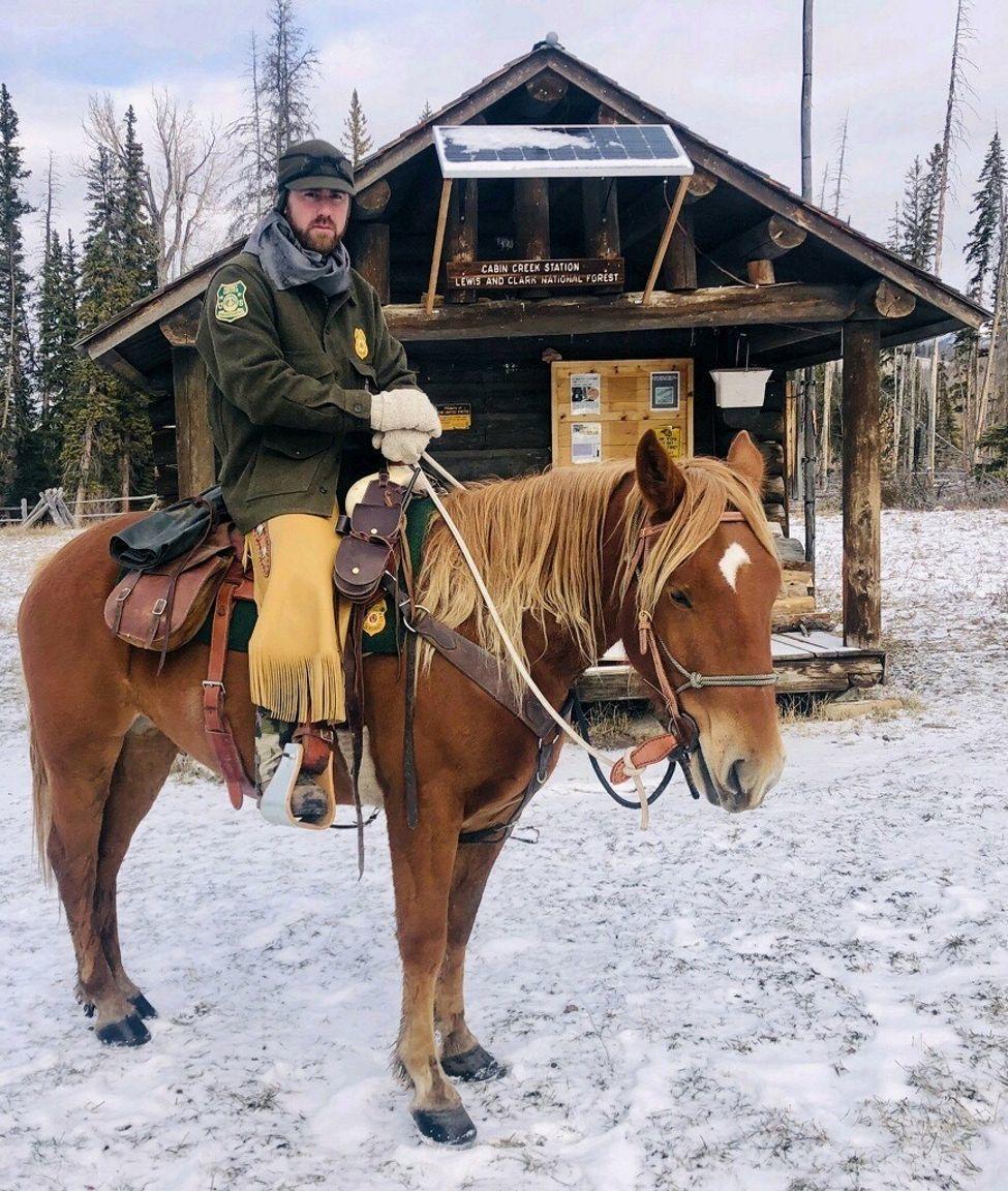 Backcountry horse