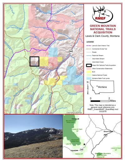 Green Mountain Trails Map