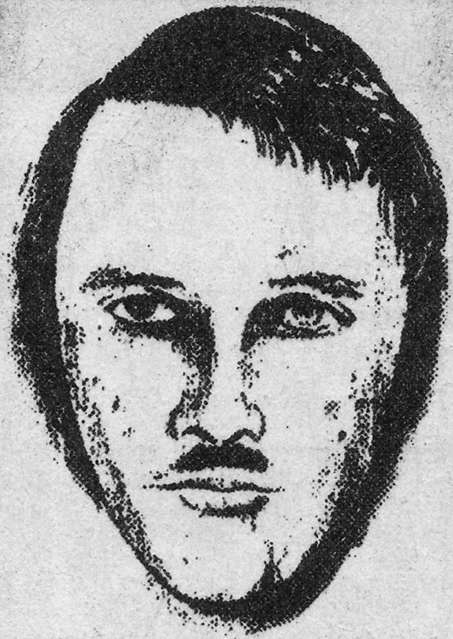 Police artist's sketch from 1987