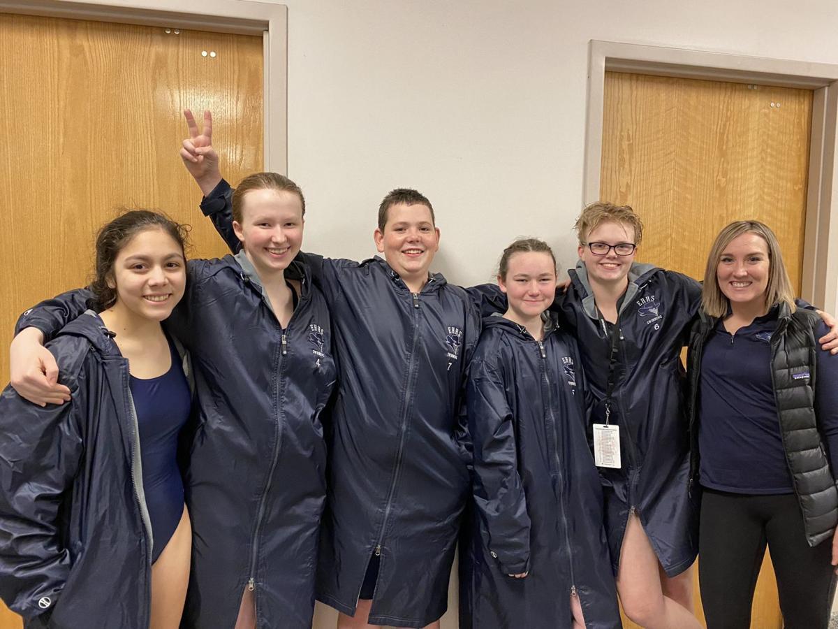 East Helena swimmers