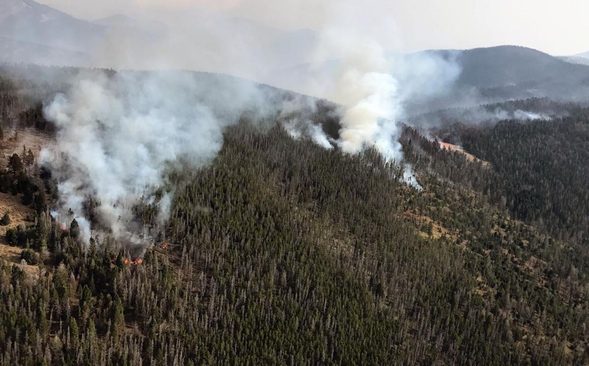 Alice Creek fire 9-11