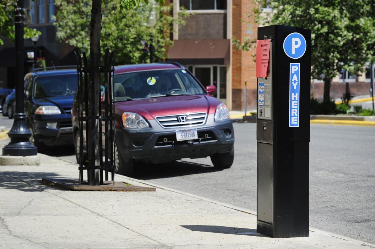 New parking kiosks