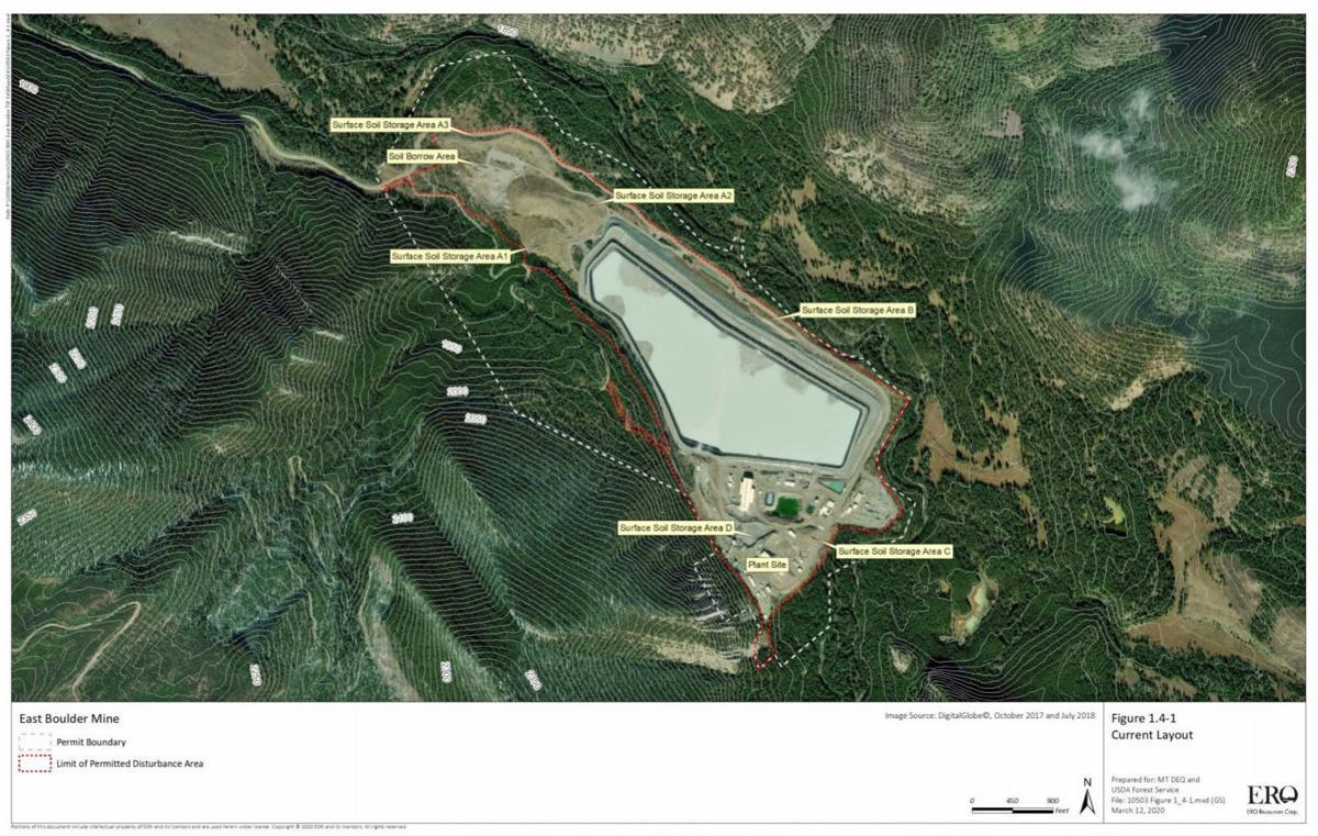 Mine site expansion