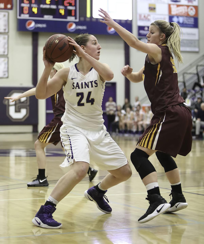 womens basketball; CC vs MSU Northern (copy)