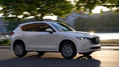 2022 Mazda CX-5: Standard All-Wheel Drive, Mild Styling Tweaks