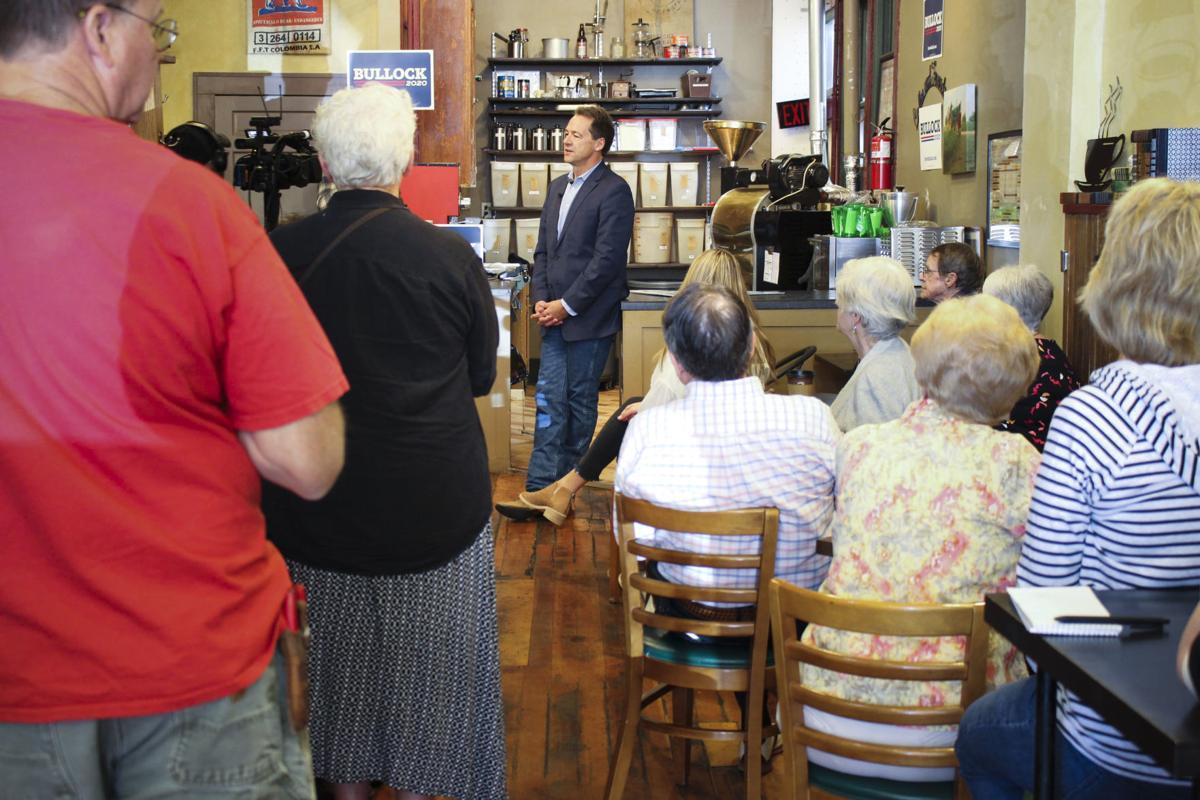 Democratic presidential candidate Gov. Steve Bullock