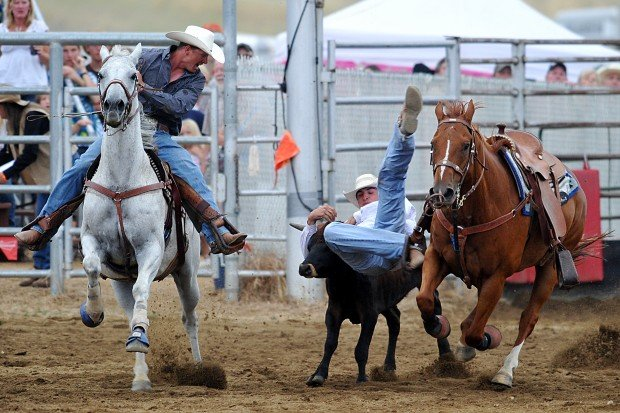 Locals Wrzesinski Cartwright Shine In East Helena Rodeo S