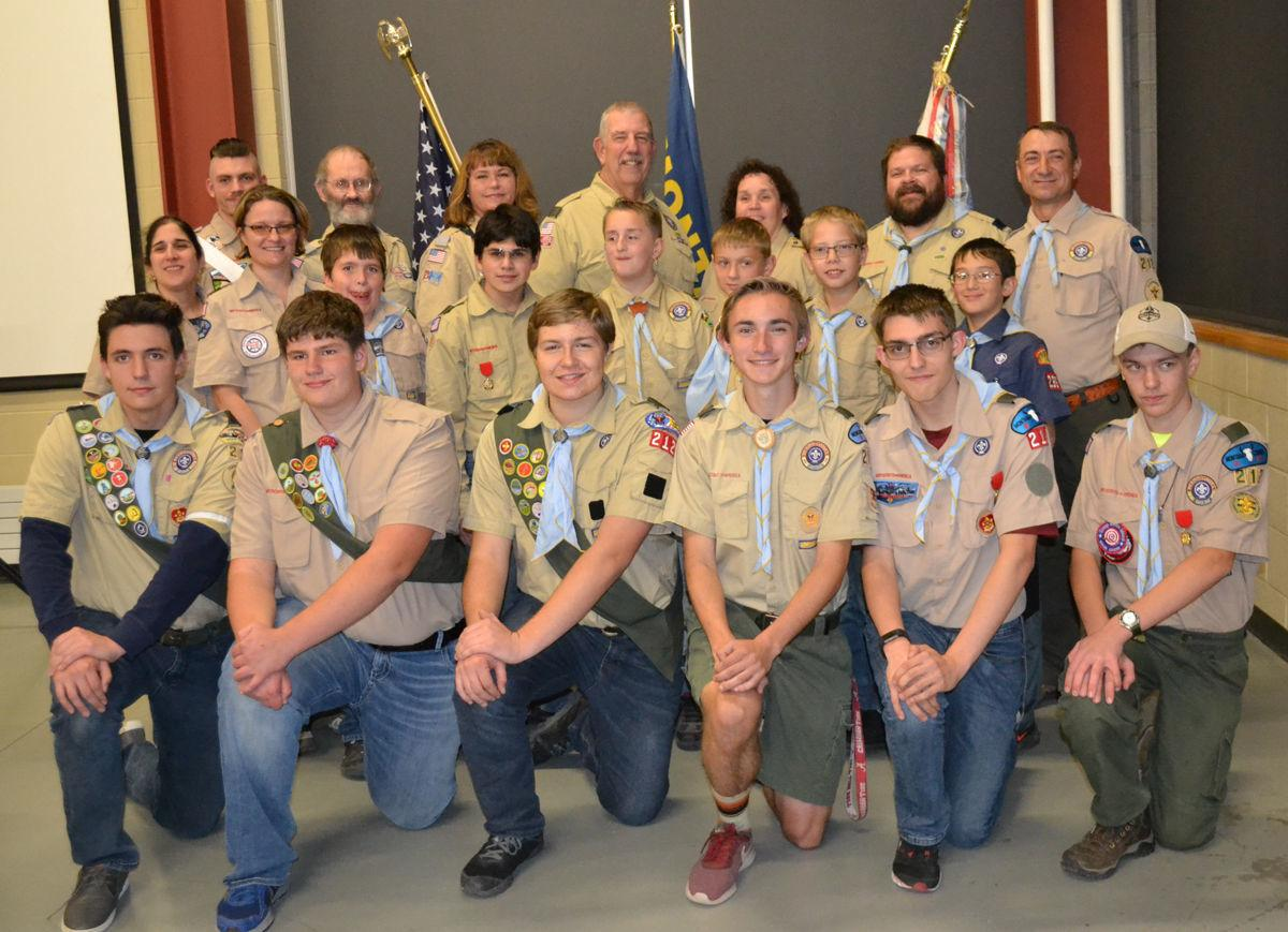 Boy Scout Troop 212 gives back to community