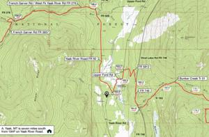 Yaak portion of Pacific Northwest Scenic Trail pits backpackers vs. grizzlies