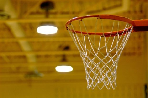 basketball net stockimage hoop