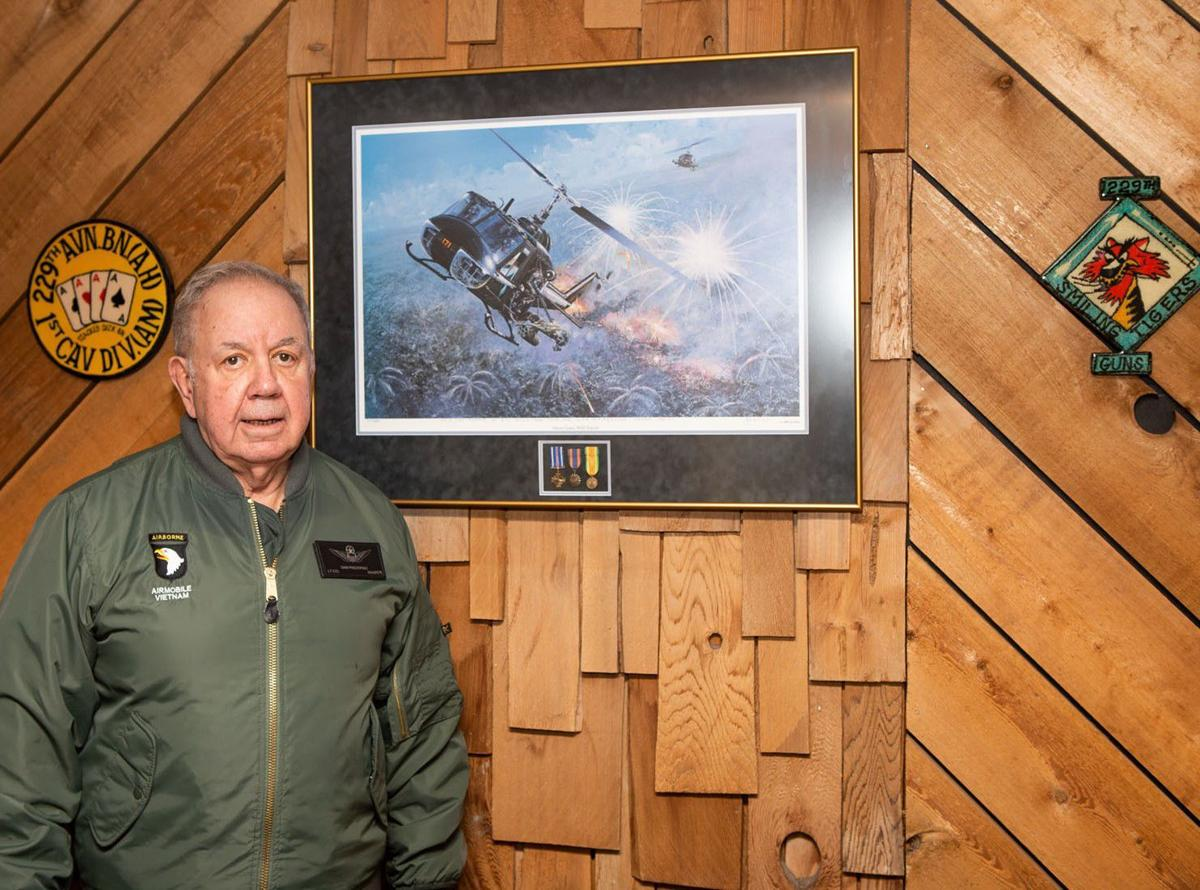 abc38e7a36 Helenans Who Served  Two-tour Vietnam helicopter pilot Sam Prestipino flew  950 hours of combat missions