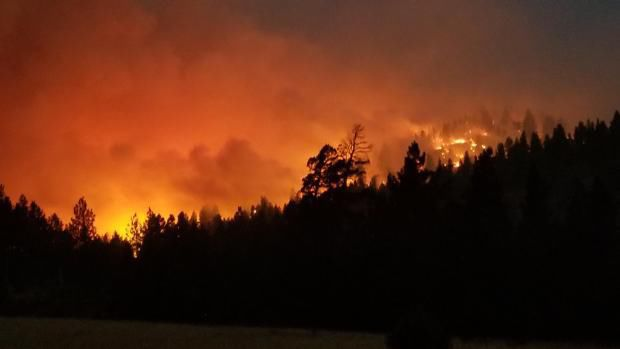 Orleans Complex Fire At 5400 Acres, 14% Contained