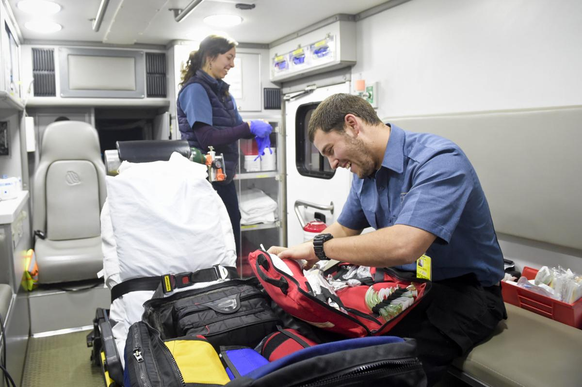 St. Peter's Health EMTs