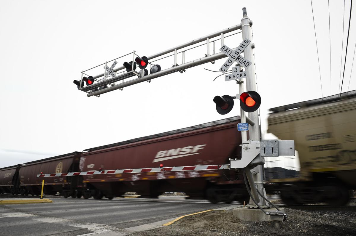 Train Crossing on Montana Ave.