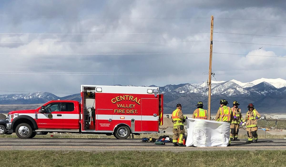 Crews respond to a fatal crash near Bozeman