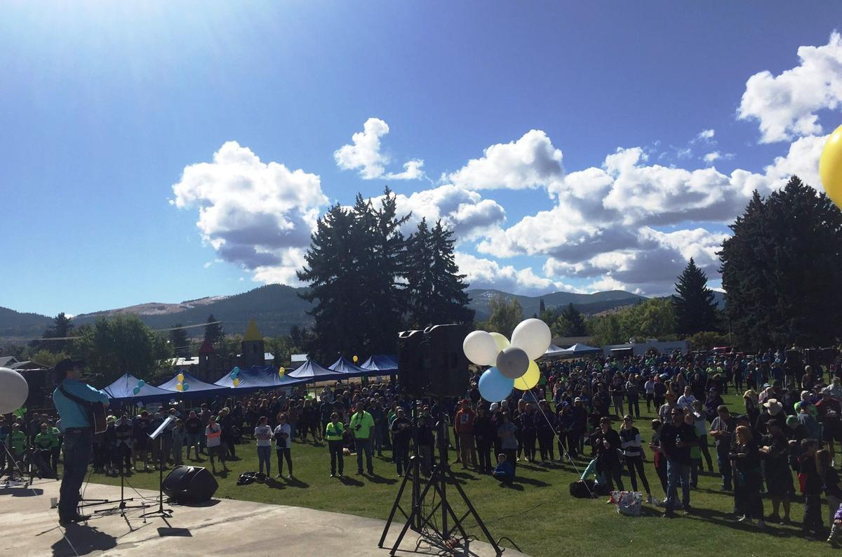 About 1,500 show up for NAMI Walk 2017