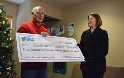 DPHHS EMPLOYEES DONATE TO FRIENDSHIP CENTER