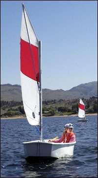 Scouts find sailing a breeze
