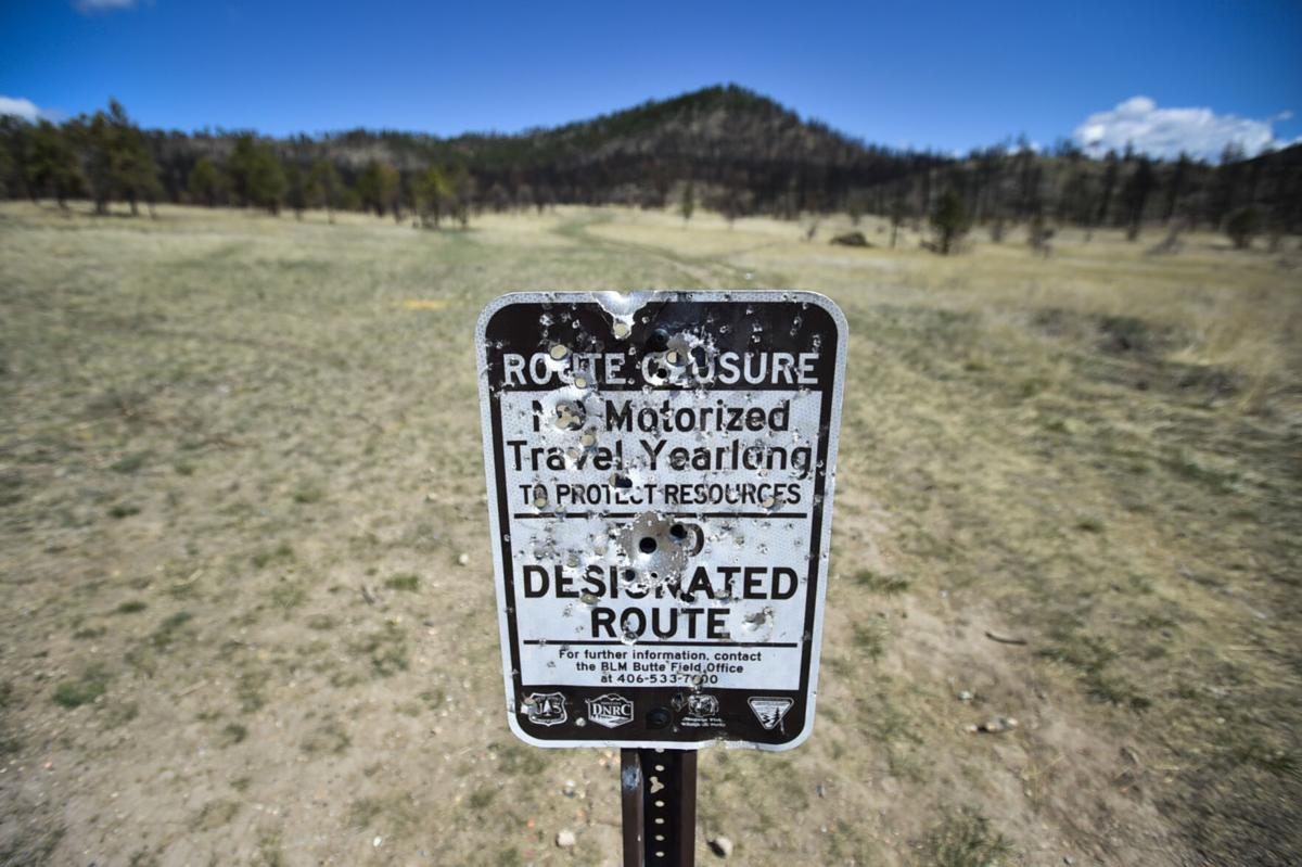 New signage installed on BLM land