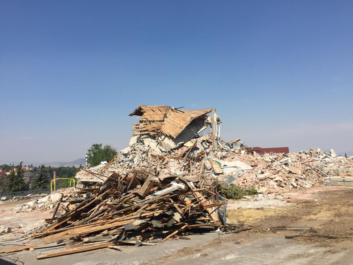 Central School debris
