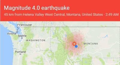 4 0 magnitude earthquake has Lincoln area rattling again