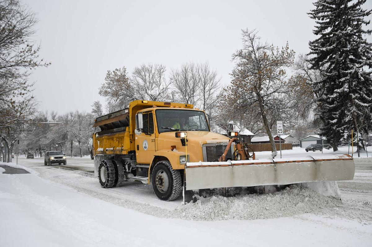 A City of Helena snow plow