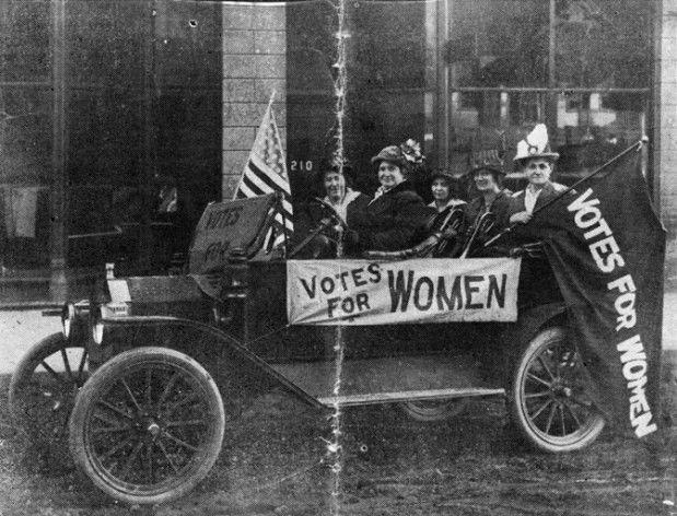 Women Suffrage Campaigners