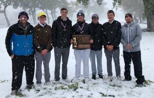 Capital boys golf trophy