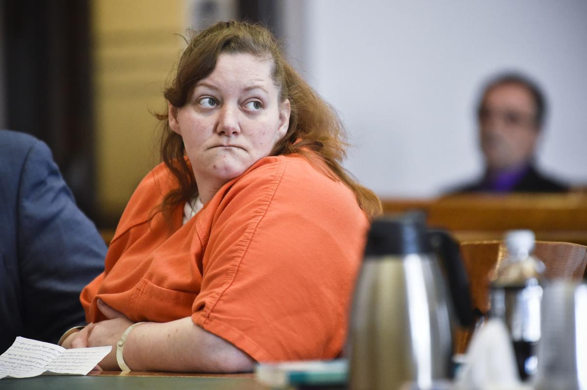 Kim Feigert appears before Judge Kathy Seeley in the Lewis and Clark County Courthouse Tuesday.