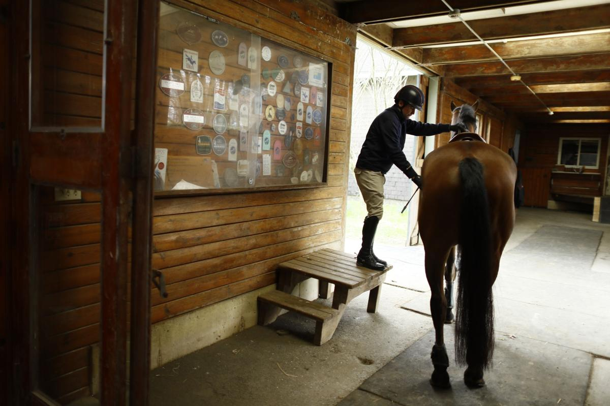 Virus Outbreak Olympic Equestrian Photo Gallery