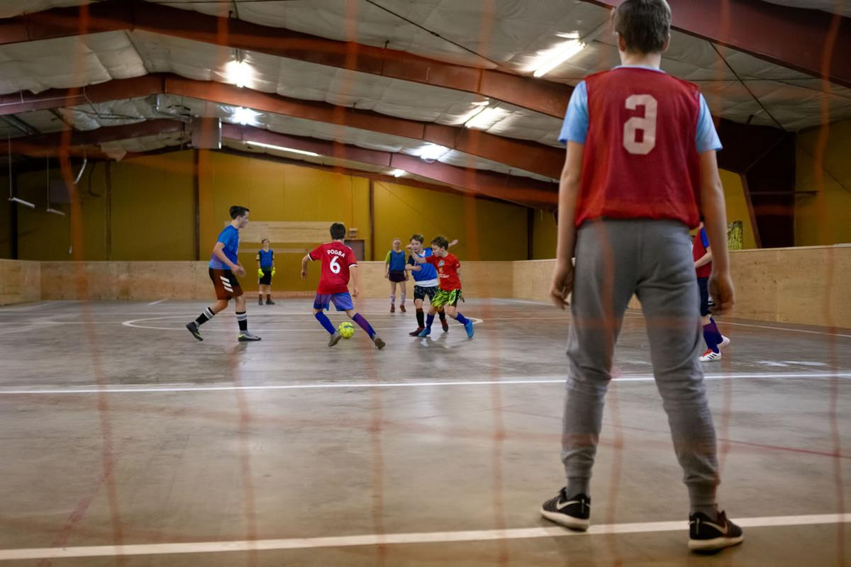 Queen City Football Club indoor soccer arena.