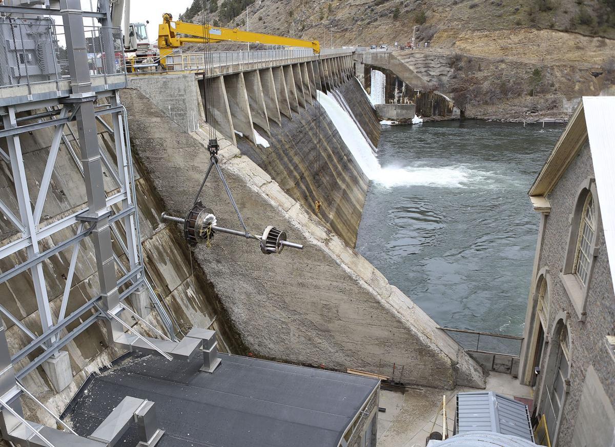 Hauser Dam Turbine