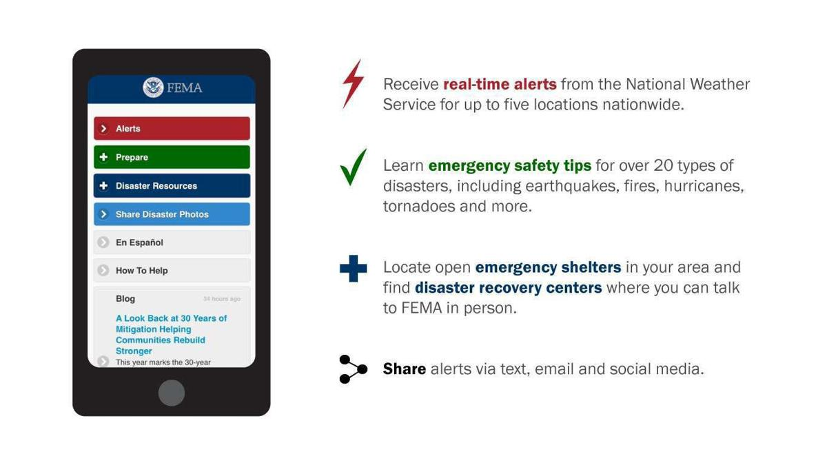 The National Weather Service office in Missoula is advising people to download the FEMA app, to stay up to date with forecasts, emergency alerts and disaster response information related to this storm.