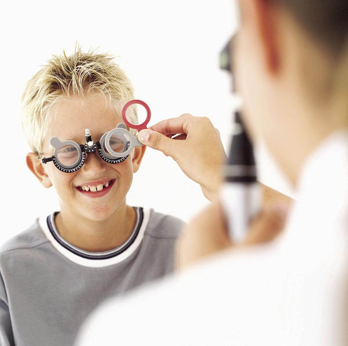Factors that can put kids at risk of vision problems