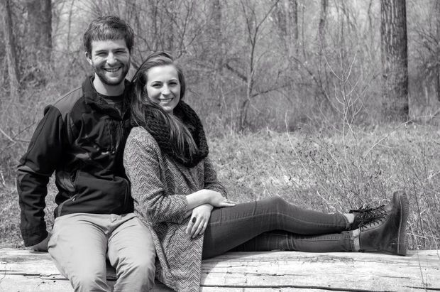 Colter Pierce and his girlfriend, Haley White