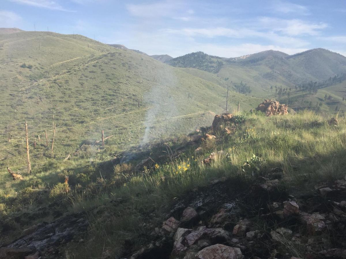 Hunter's Gulch fire