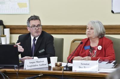 Angus Maciver, legislative auditor,